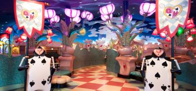ディズニーランド内レストランで低アレルゲンメニューに対応したイメージ画像
