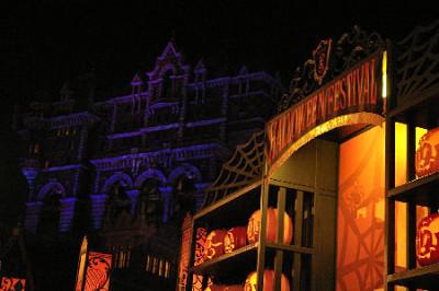 ディズニーハロウィン2014のタワー・オブ・テラーの内部画像