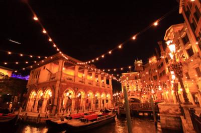 ディズニーハロウィン2014のヴェネツィアン・ゴンドラの内部画像
