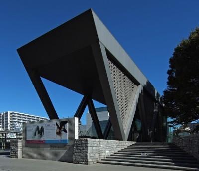 赤ちゃんの遊び場・東京都現代美術館の外観の画像
