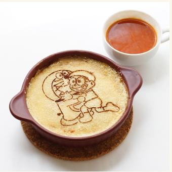 ドラえもんに会える藤子・F・不二雄ミュージアムにはカフェも充実の料理画像