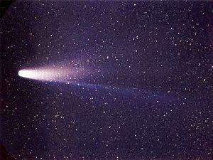 オリオン座流星群の元となるハレー彗星の画像