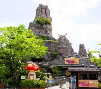 大阪のひらかたパークの園内画像