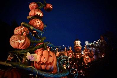 ディズニーハロウィン2014・TDLハロウィンのかぼちゃの画像