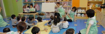 子どもを安心して預けられるキッズスクウェアの画像01
