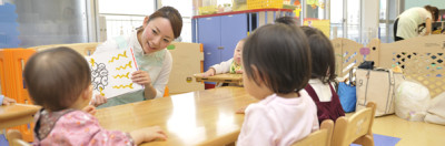 六本木ヒルズで子連れでおでかけに便利な託児サービスの施設内イメージ画像