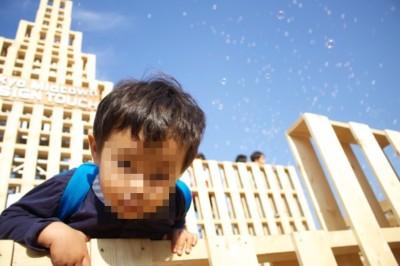 東京ミッドタウンで開催のイベントで遊ぶ子どもの画像03