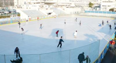 子どもと子連れで初めてアイススケート場特集 沼影公園アイススケートリンク 埼玉県さいたま市の画像