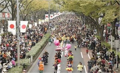 表参道ハロウィンパレードの画像