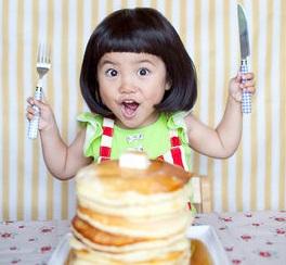 子連れおでかけパンケーキ