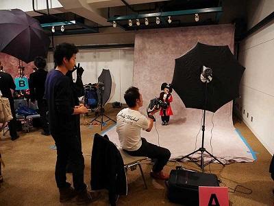 写真スタジオの画像