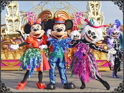 ディズニーハロウィン2014のウェルカム・スケルトン・フレンズの画像