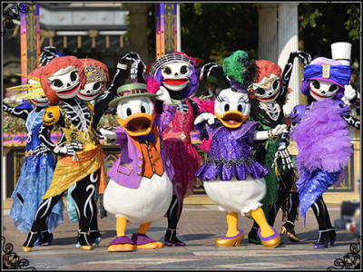 ディズニーハロウィン2014のニューヨーク・ハロウィン・フォリーズの画像