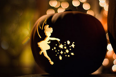 ディズニーハロウィン2014・ティンカーベルのかぼちゃの画像
