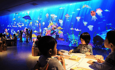 チームラボ学ぶ!未来の遊園地水族館の画像
