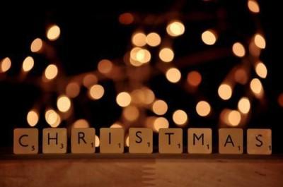 2014年イルミネーション、クリスマスのキューブの画像
