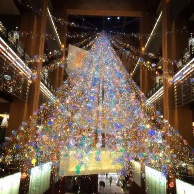 2014年クリスマスのイルミネーションイメージ画像