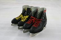 東京・港区明治神宮外苑にあるアイススケートの館内画像02