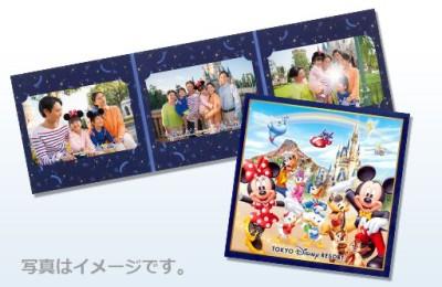 ディズニー年間パス台紙つき写真のイメージ画像