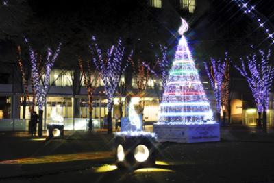 2014年クリスマスのけやきひろばのイルミネーションの画像01