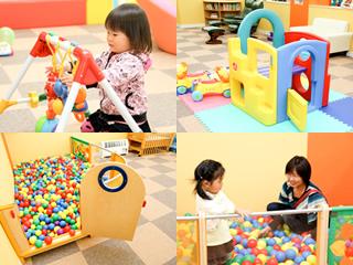 札幌のファンタジーキッズリゾートに子連れでおでかけの乳幼児の画像