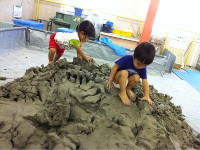 子どもの感性が豊かになる遊び場・粘土の画像