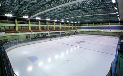 東京・江戸川区にあるアイススケートの館内画像01
