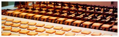 札幌にある白い恋人パーク製造レーンの画像
