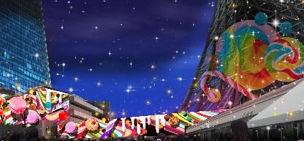 2014イルミネーション東京スカイツリーの画像