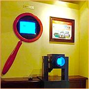 子連れで行ける公共施設、顕微鏡図鑑の画像