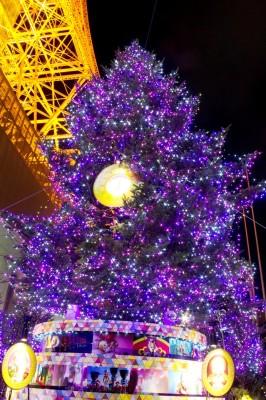2014年イルミネーション・イベント開催の東京タワーの画像01