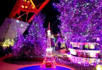 2014年イルミネーション、東京タワーイルミネーションの画像