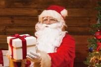 サンタクロースがプレゼント手渡し?ホテル椿山荘東京のイメージ画像01