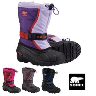雨の日もご機嫌、SORELの長靴の画像