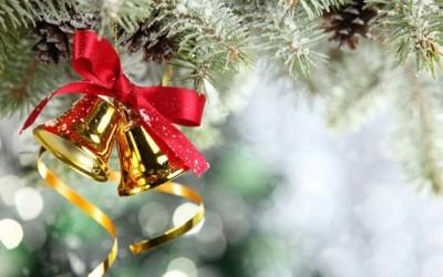 クリスマスのベルを折り紙で折って子連れでおでかけ