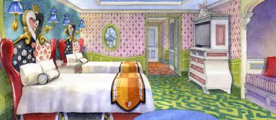 東京ディズニーランドホテルの人気客室のイメージ画像01