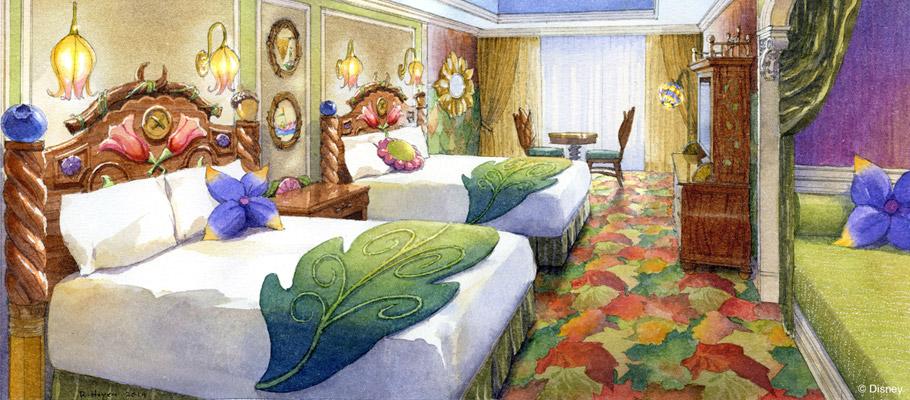 東京ディズニーランド ホテル 泊まる