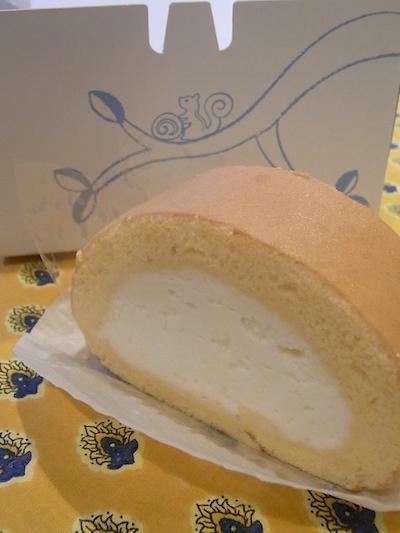 ロールケーキの人気店・はらロールのロールケーキの画像