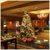 サンタクロースがプレゼント手渡し?ホテル椿山荘東京のイメージ画像02
