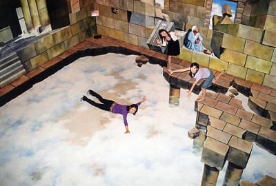 トリックアート美術館の東京・高尾山の館内画像01