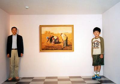 トリックアート美術館の東京・高尾山の館内画像04