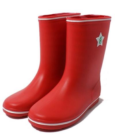 雨の日もご機嫌、green labelの長靴の画像