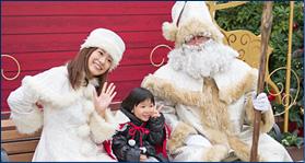 クリスマスイベントにイクスピアリのサンタがおすすめの画像