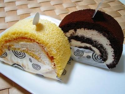 ロールケーキの人気店・自由が丘ロール屋のロールケーキの画像