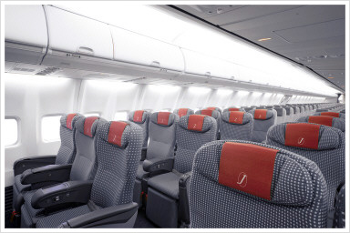 赤ちゃんと一緒に飛行機に搭乗でうれしいJALのサービスのイメージ画像