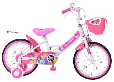 子ども用自転車練習プリンセスの画像