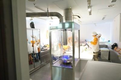 東京のキッザニア・食品開発センターパビリオンの画像