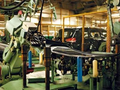 三菱自動車・水島製作所の工場見学の画像