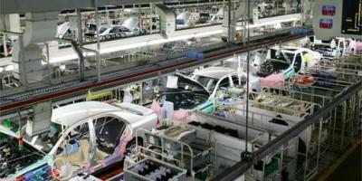 トヨタ自動車の工場見学の画像