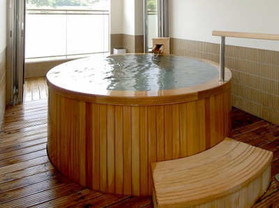 秋保温泉のホテルニュー水戸屋の貸切湯
